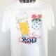 『ぬり絵Tシャツ制作キット』手作りキット(ビール&バラ アイボリー)