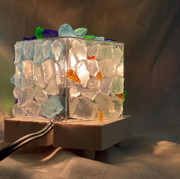 『ビーチグラスのランプシェード』制作キット