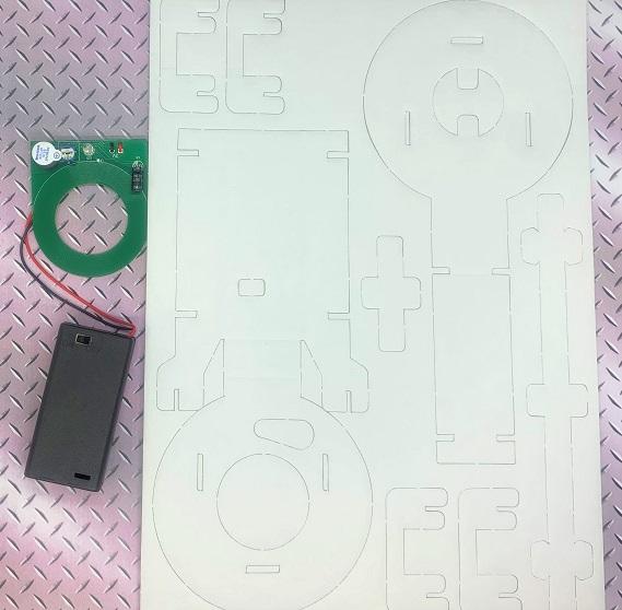 金属探知機工作キット