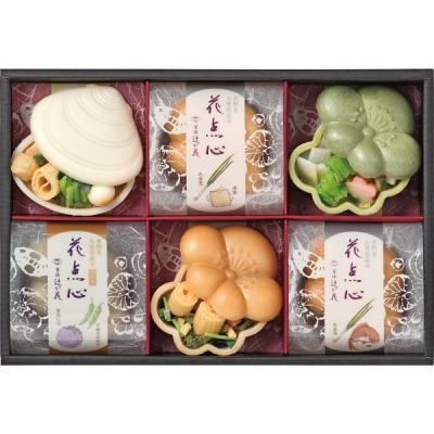 人気プレゼントランキング 祖父・祖母・父親・母親・高齢者へ京都・辻が花 京野菜のお吸物最中詰合せ
