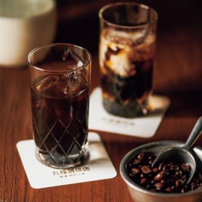 高齢者の脱水・熱中症対策になる夏の涼しいお中元・ギフト・プレゼント丸福珈琲店 アイスコーヒーセット 3本