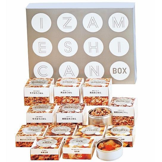保存食 12缶セットIZAMESHI CAN BOX