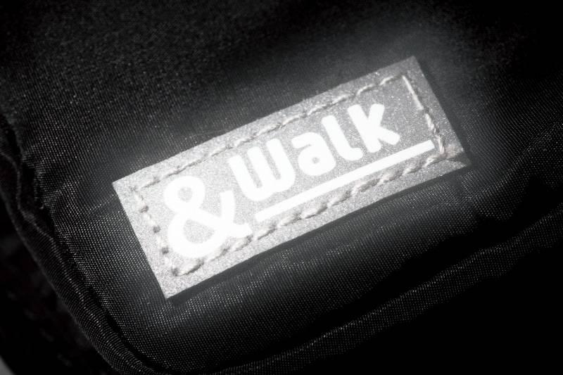 軽量ウォーキングバッグ(ドリンクホルダー付き)/ブラック