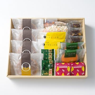 人気の和菓子&洋菓子 風呂敷包み 詰合せ8種(大)/OyaimaスイーツA_