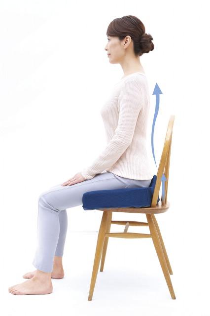 背筋が伸びる腰痛クッション 〜正しい姿勢で腰痛対策_