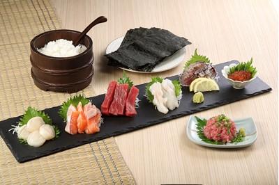 今朝獲れ鮮魚入り! 贅沢手巻き寿司セット