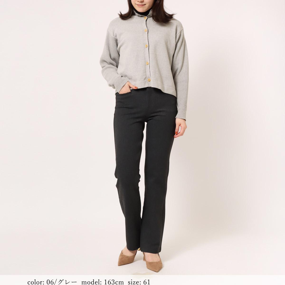 【NEW SALE】Mrs.Jeana GOLD ■暖■ T/R2wayストレッチカラーディナーストレート GM3952