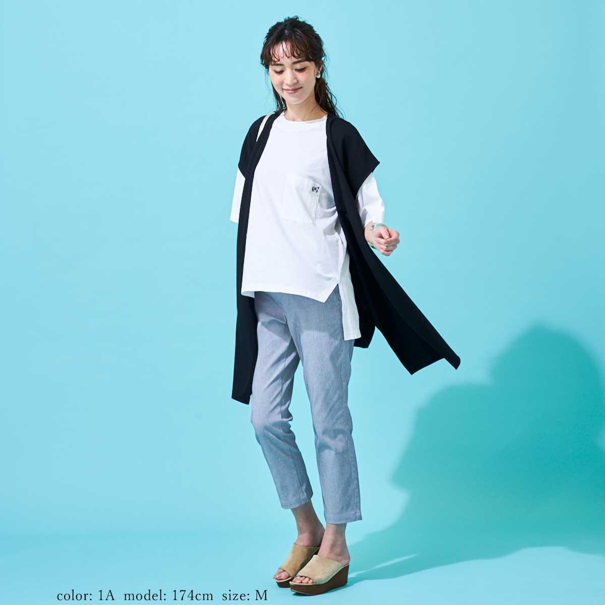 \返品送料無料/Mrs.Jeana GOLD ■涼■カプリ GM3876