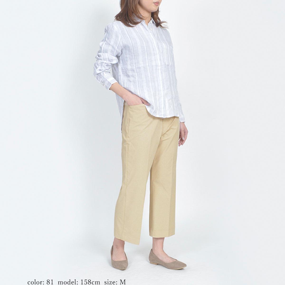 【SALE】Mrs.Jeana GOLD クロップドストレート GM3906