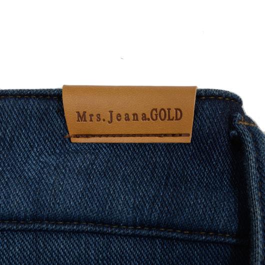 【SALE】Mrs.Jeana ■暖■ 裏フリースニットタイトストレート MJ4452