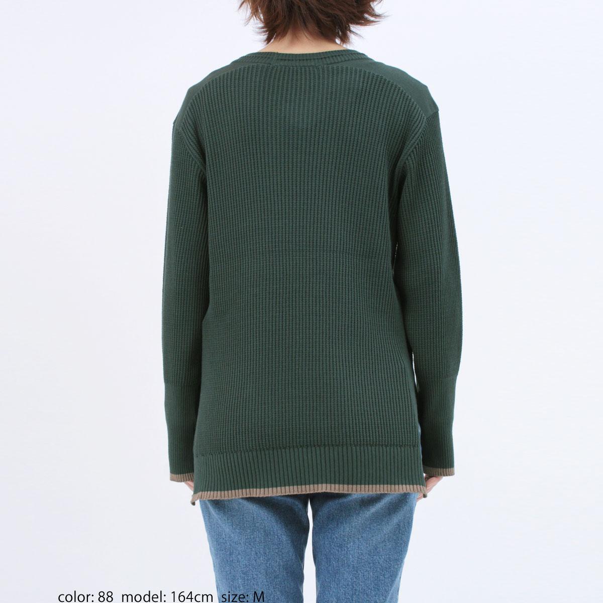 【SALE】AZURITE コンパクトヤーンニットタック編みプルオーバー SCT113