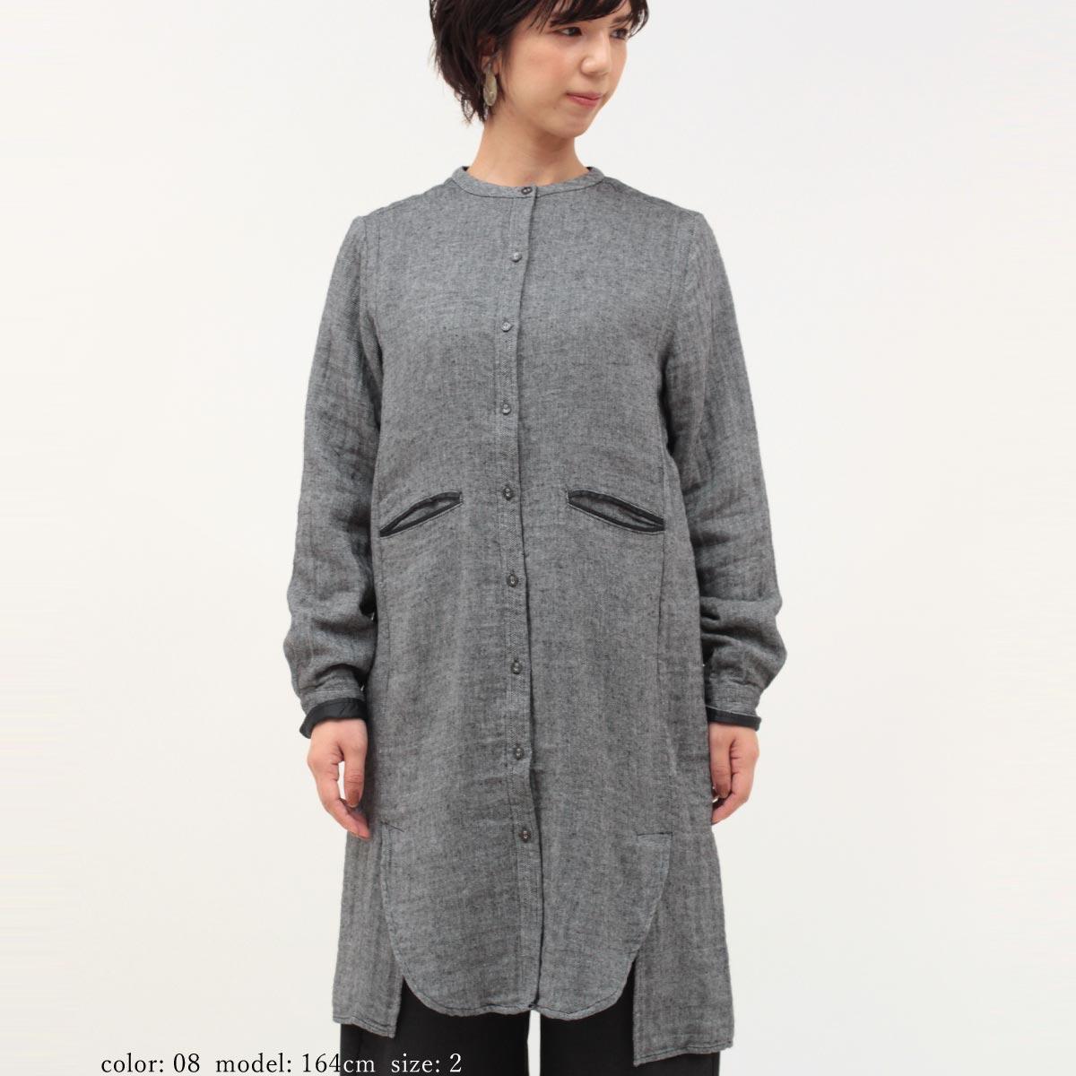 【NEW SALE】M・J・G スモックシャツドレス GMT680