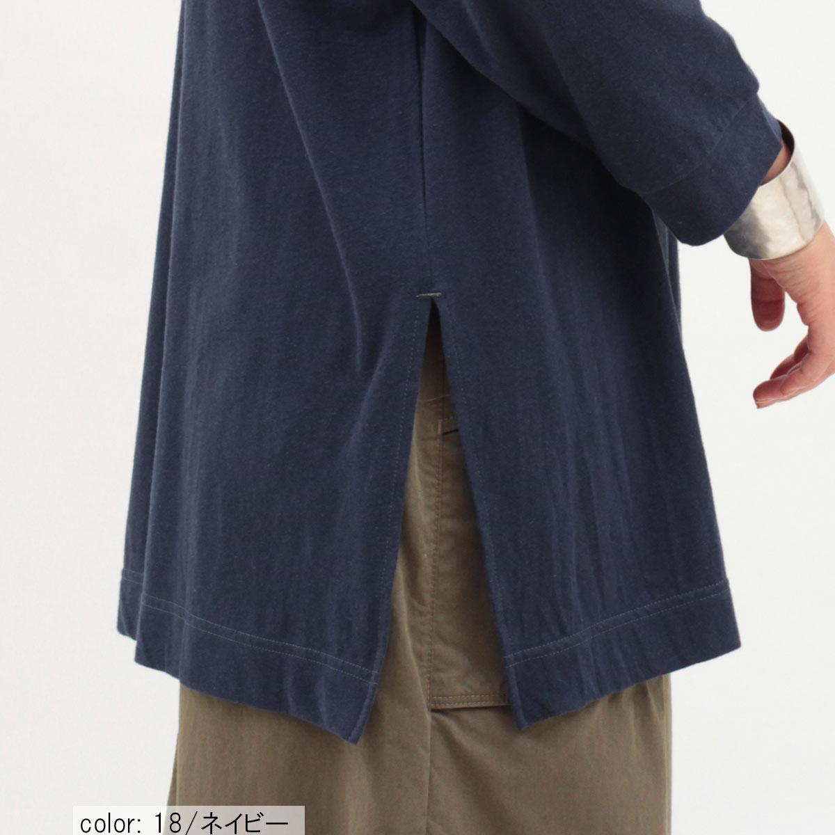 \全品ポイント5倍/Cafetty リネン混8分袖ルーズプルオーバー CF6034