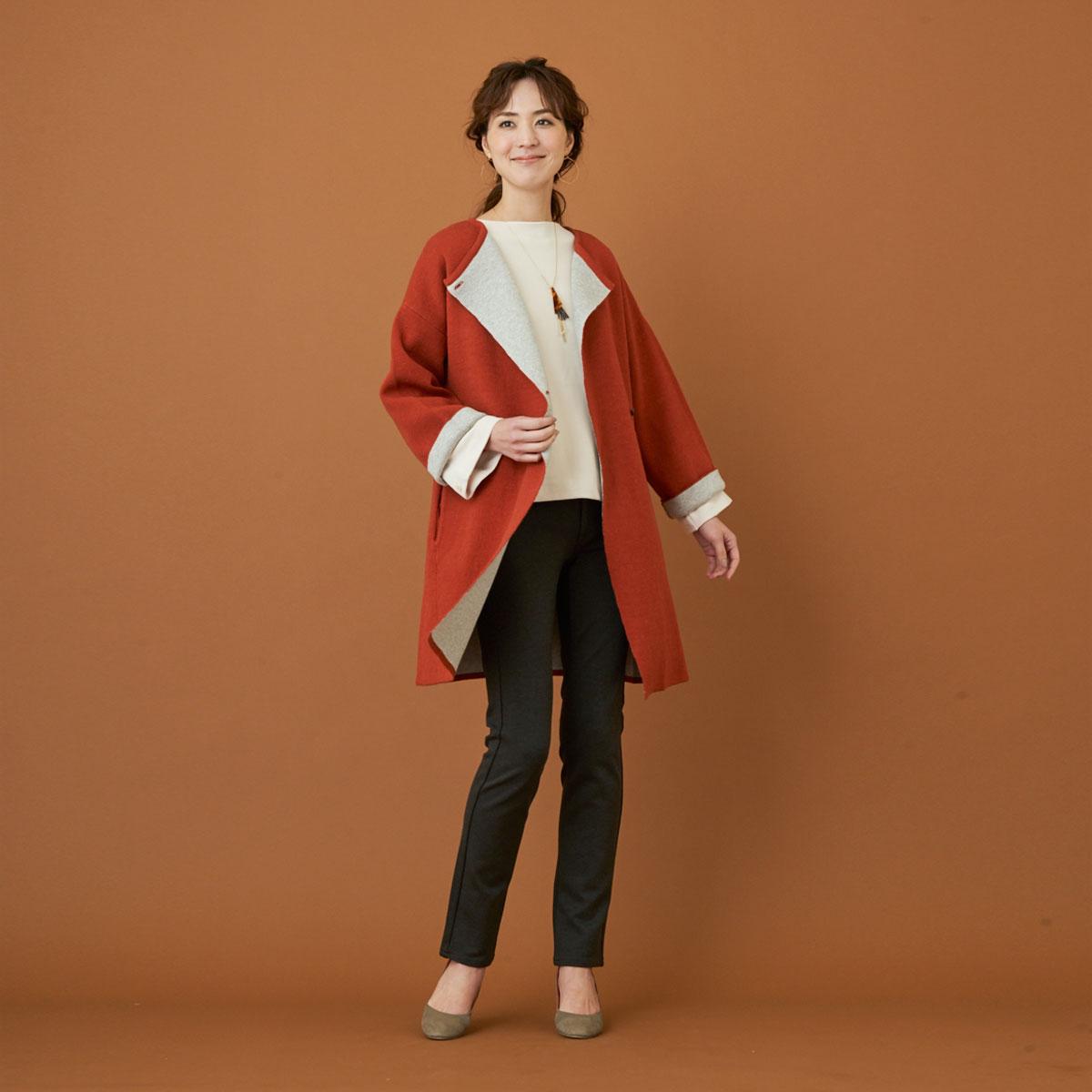 Mrs.Jeana GOLD ■暖■ クロスウォームスキニー GM3781
