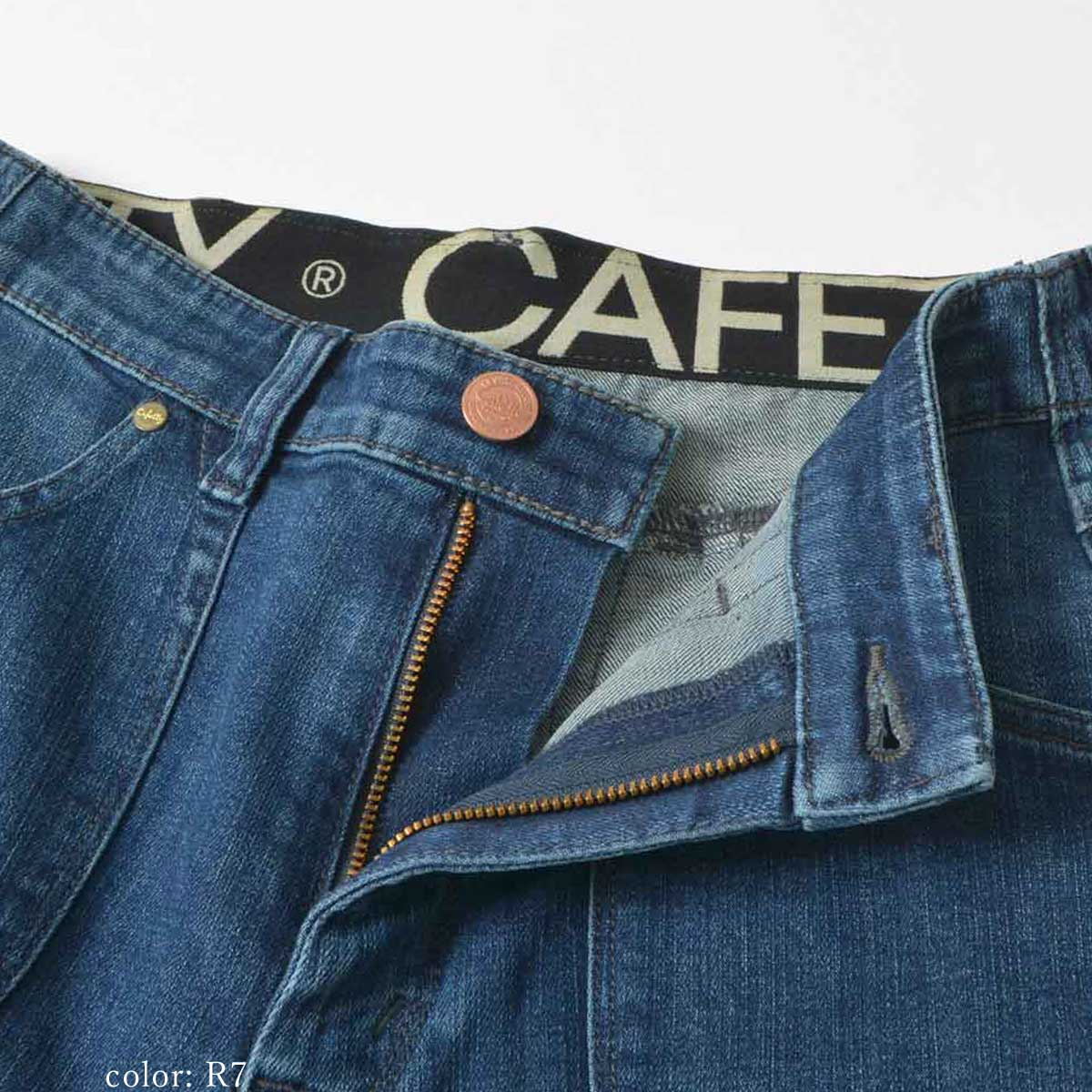 Cafetty CFロゴガーデンスキニー CF0365