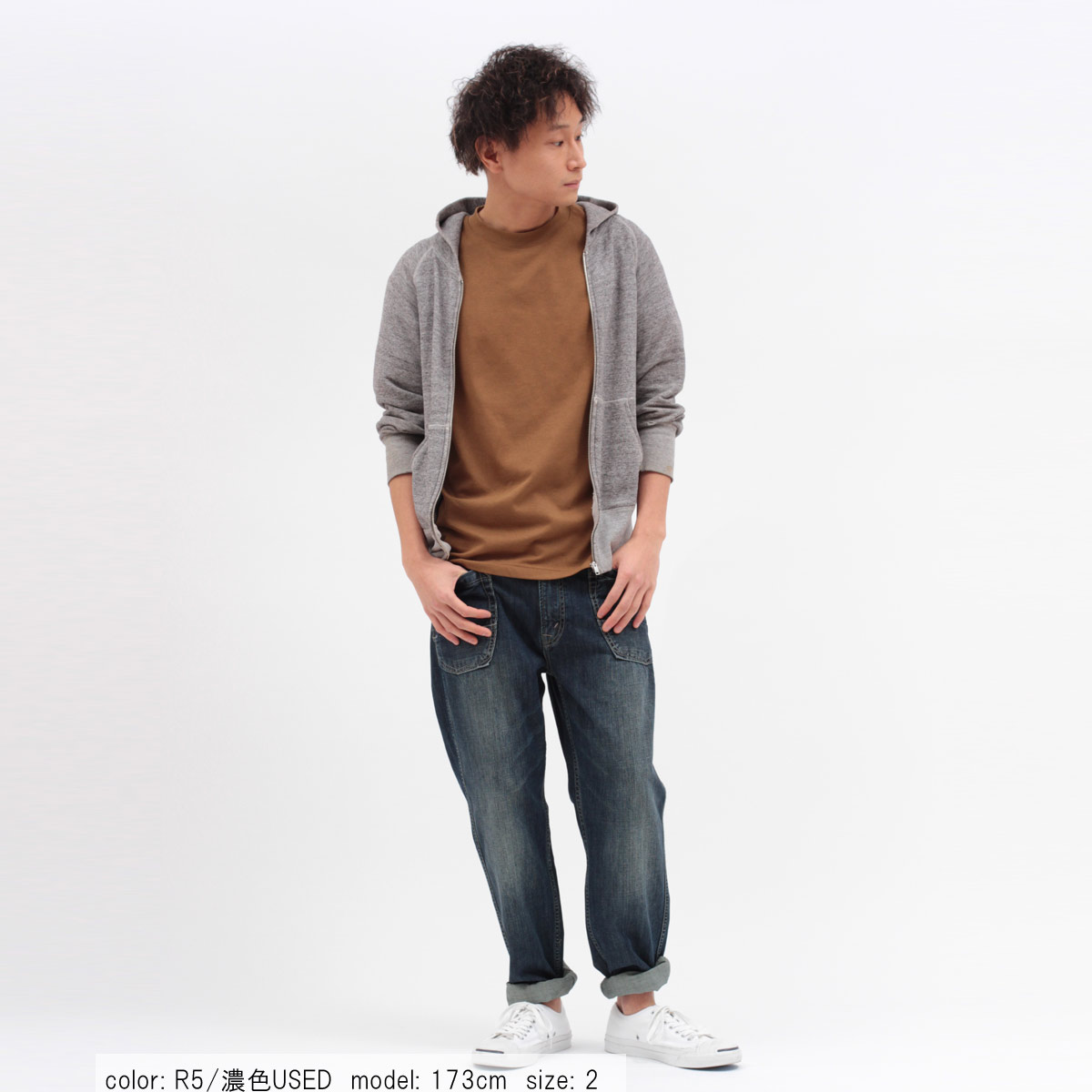\返品送料無料/【メンズ】Cafetty ワークペグトップ CFM170