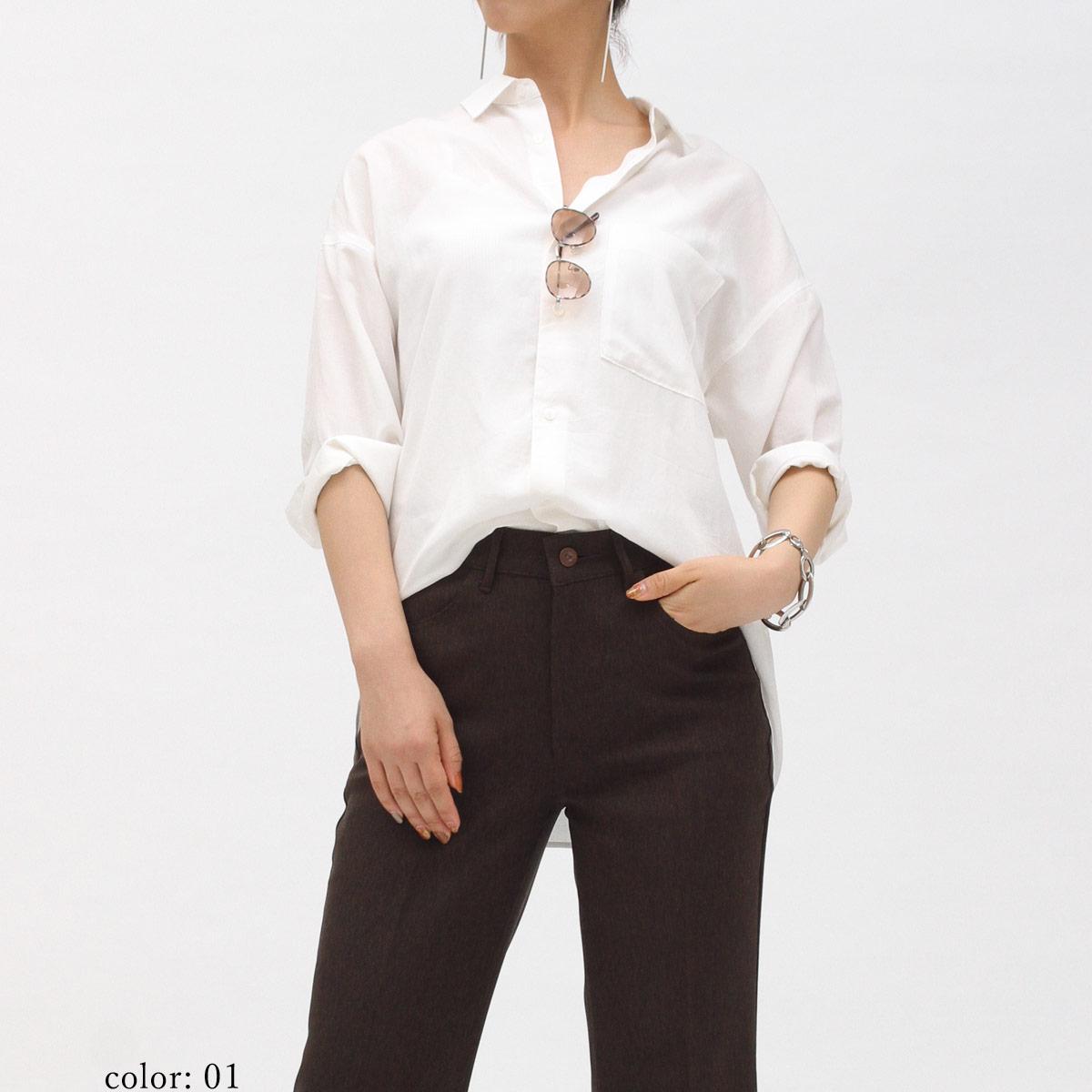 【SALE】AZURITE ミディアムスリーブシャツ SCT116