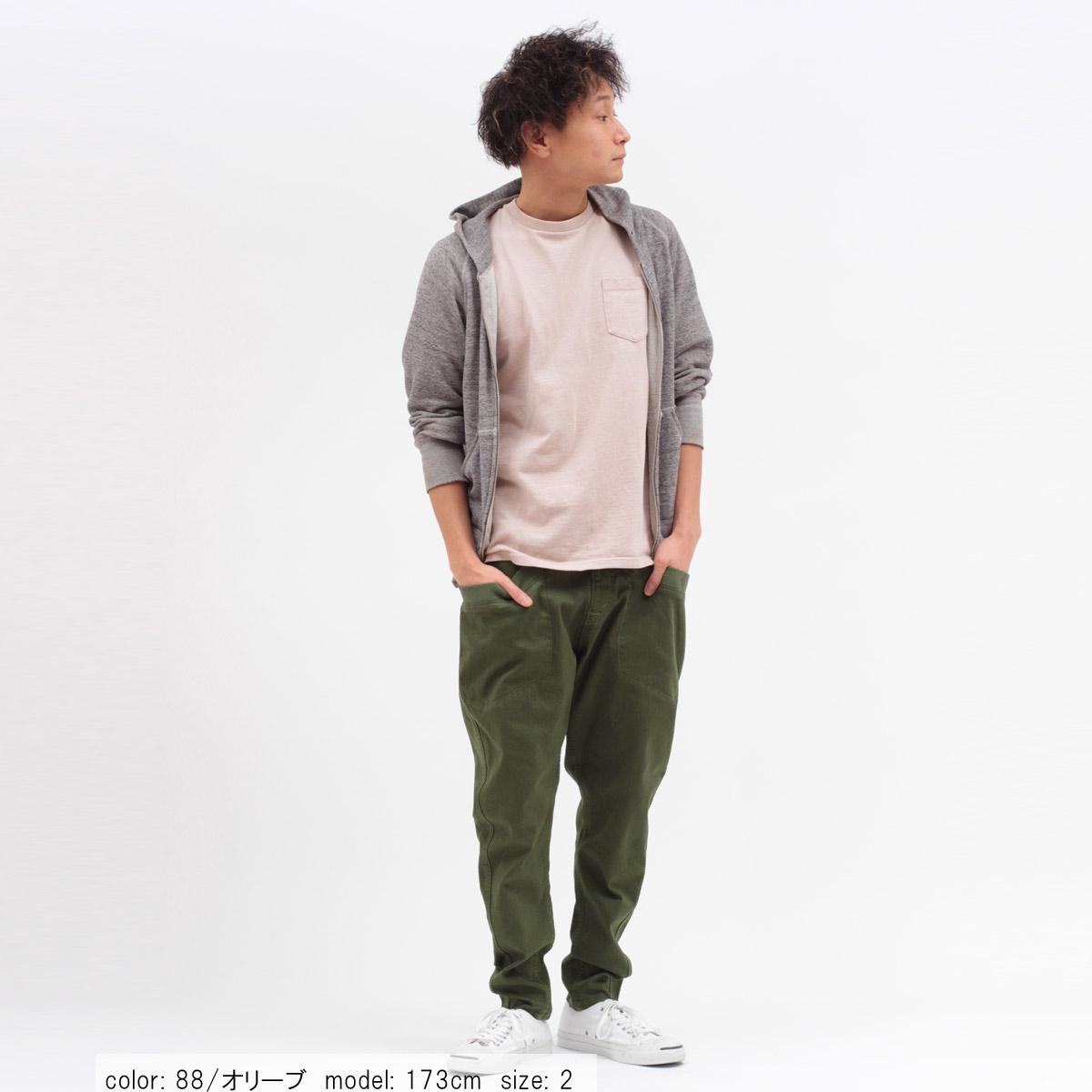 \全品ポイント5倍/【メンズ】Cafetty サルエルスキニー CFM295