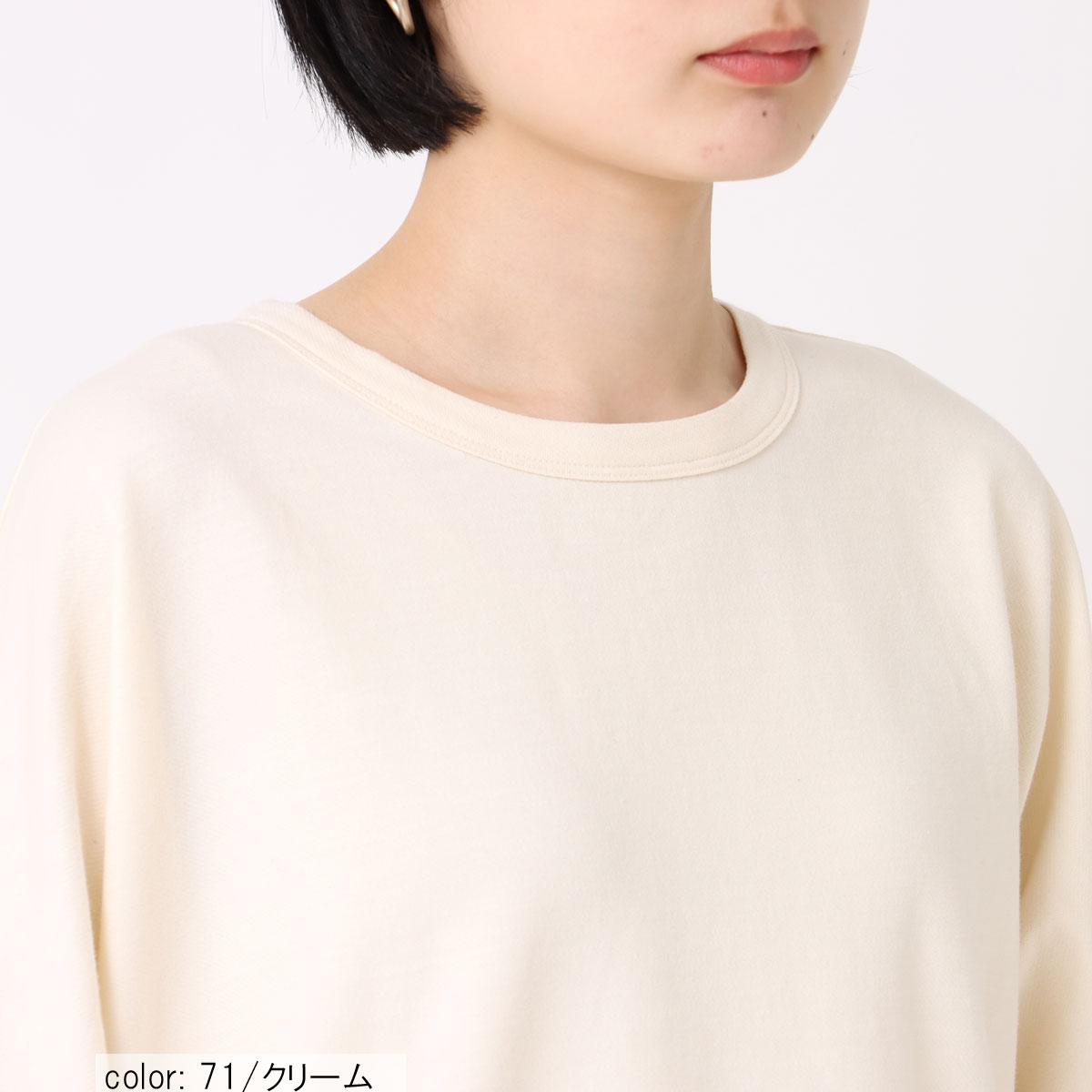 10倍ポイント【9/1入荷】コクーンチュニック CF6051