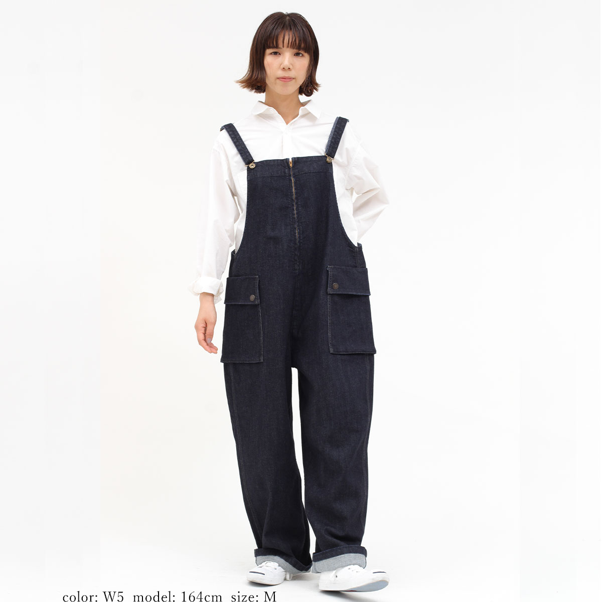 【NEW SALE】Cafetty BIGポケオーバーオール CF0369