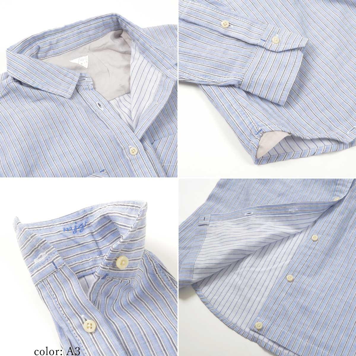 【SALE】M・J・G チェックシャツ GMT657