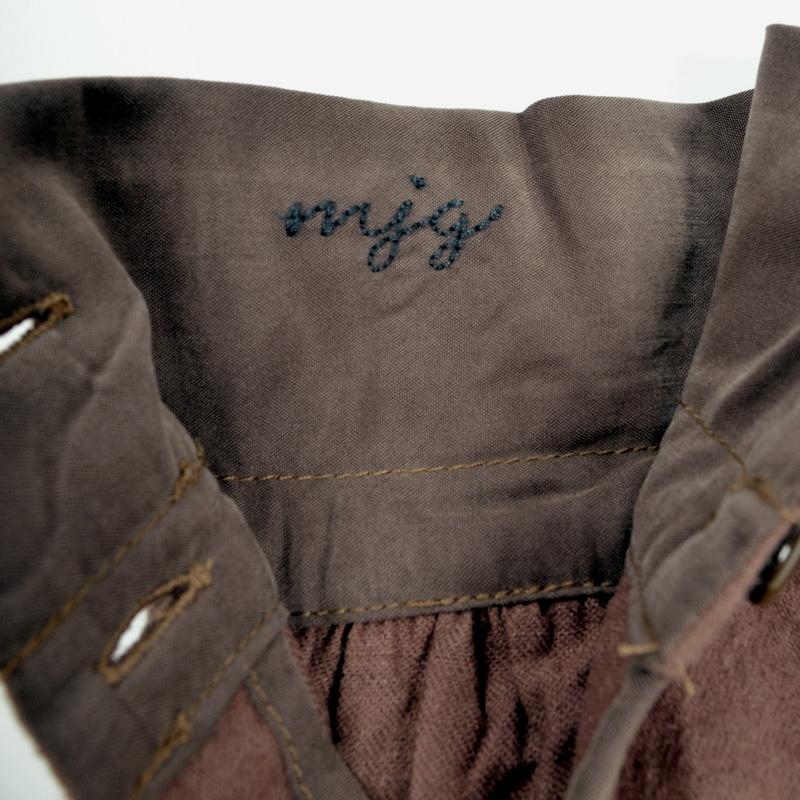 【SALE】M・J・G フランネルシャツロングシャツ GMT653