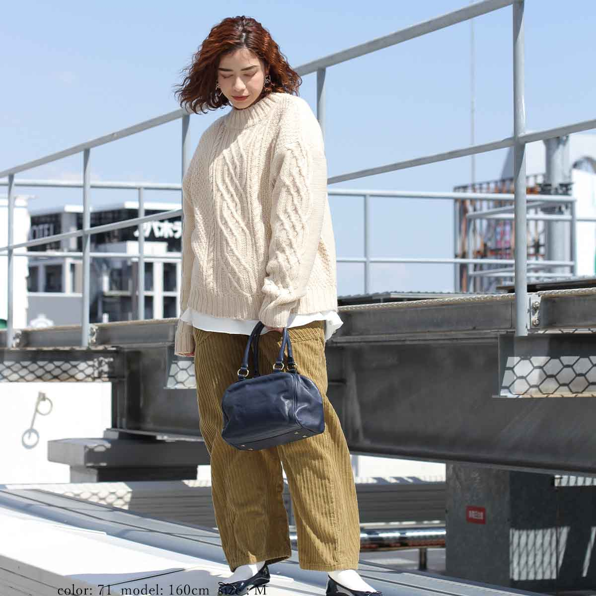 【SALE】ケーブルニットPO CF6022