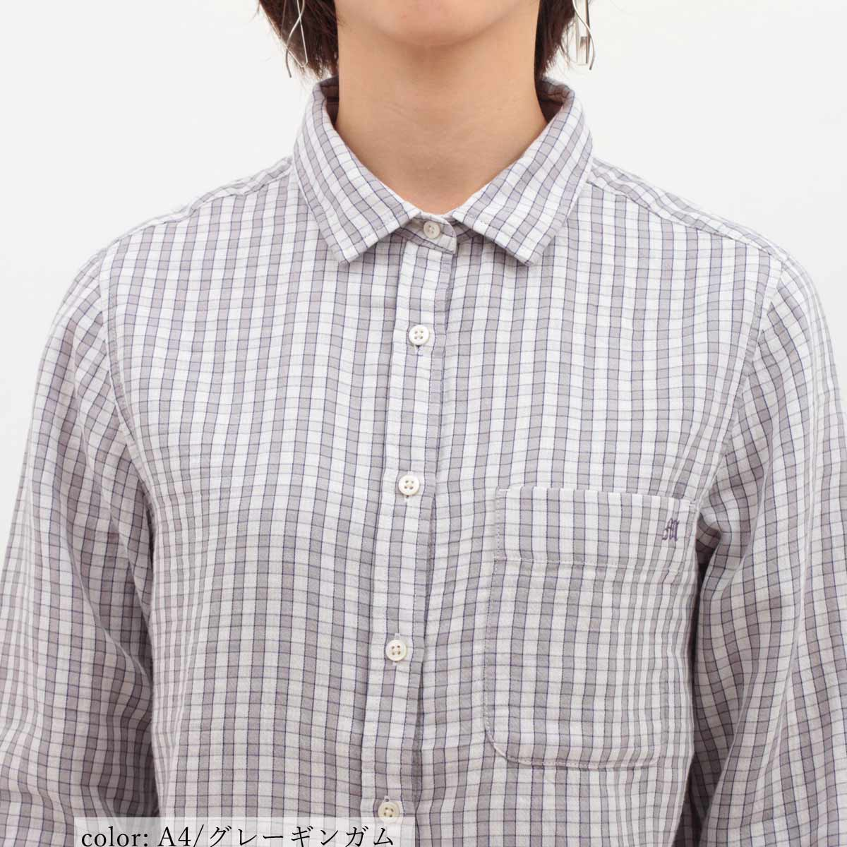 M・J・G チェックシャツ GMT686