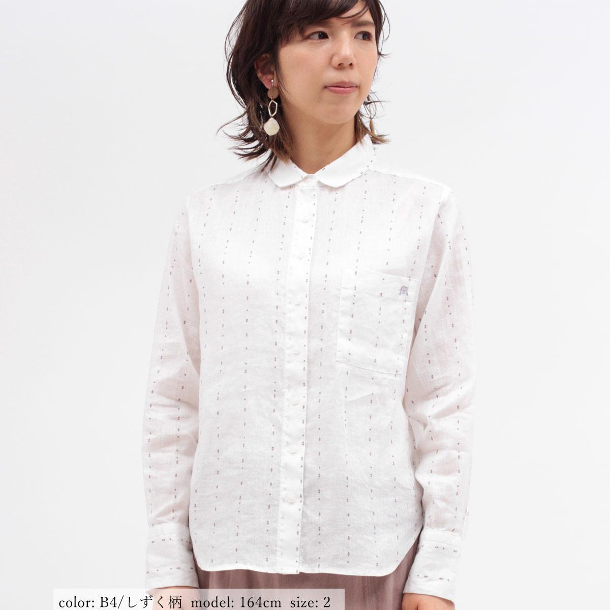 M・J・G フレンチリネンシャツ GMT687