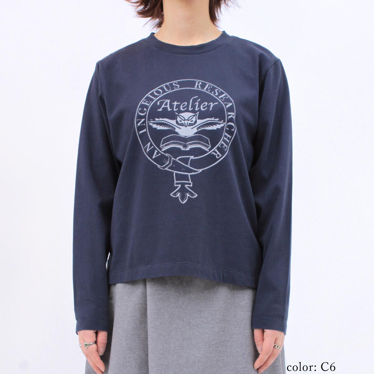 【SALE】M・J・G ロゴプリントロングスリーブTシャツ GMT225