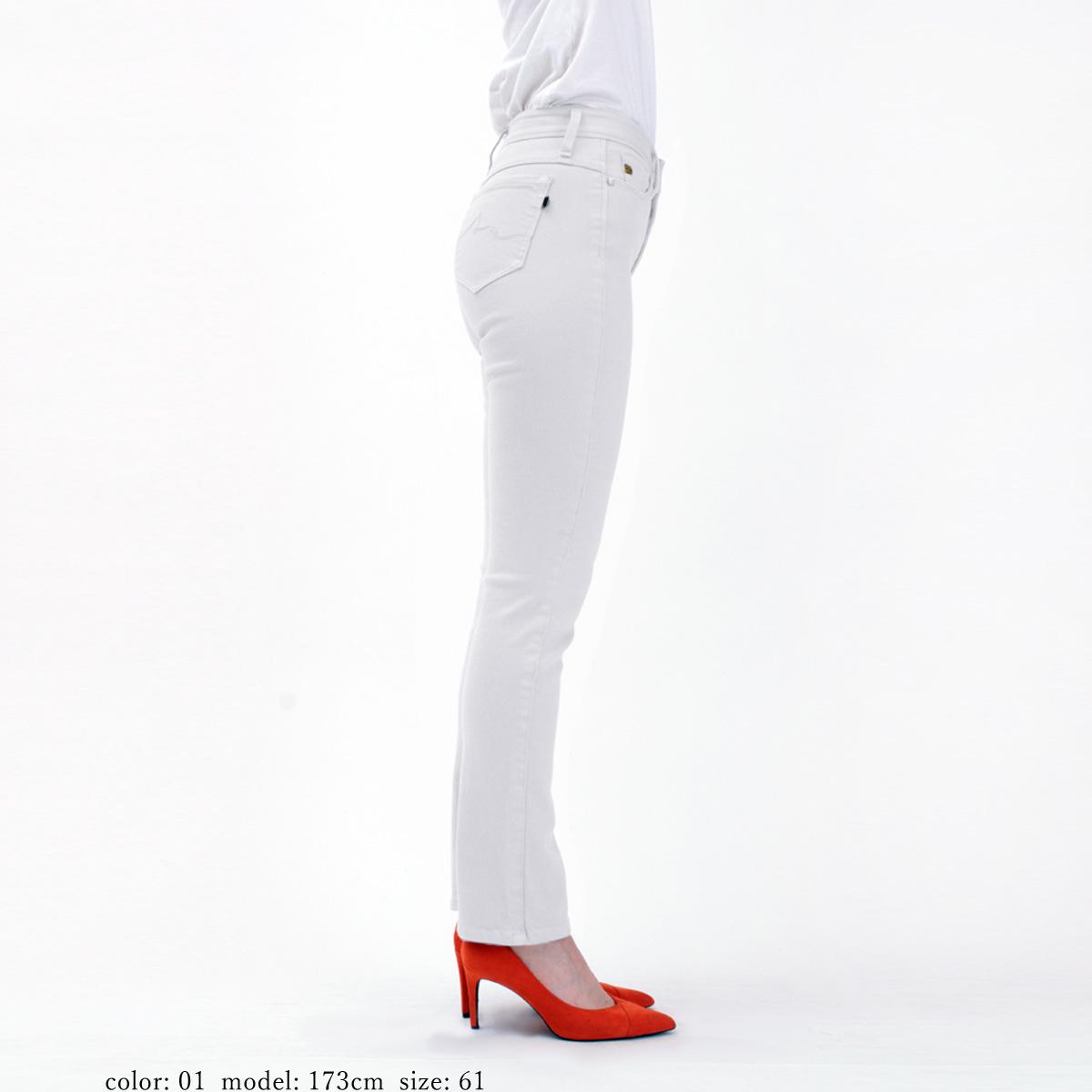 【SALE】Mrs.Jeana GOLD リフトアップ タイトストレートカラーパンツ GM3872