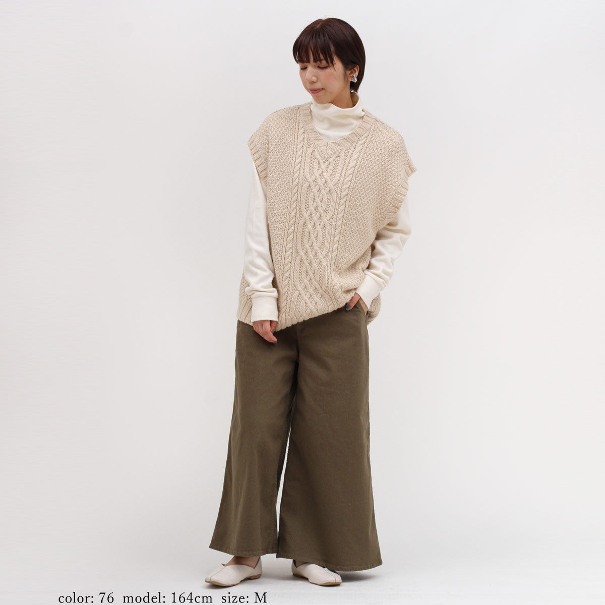 【SALE】ロングキュロット CF0384