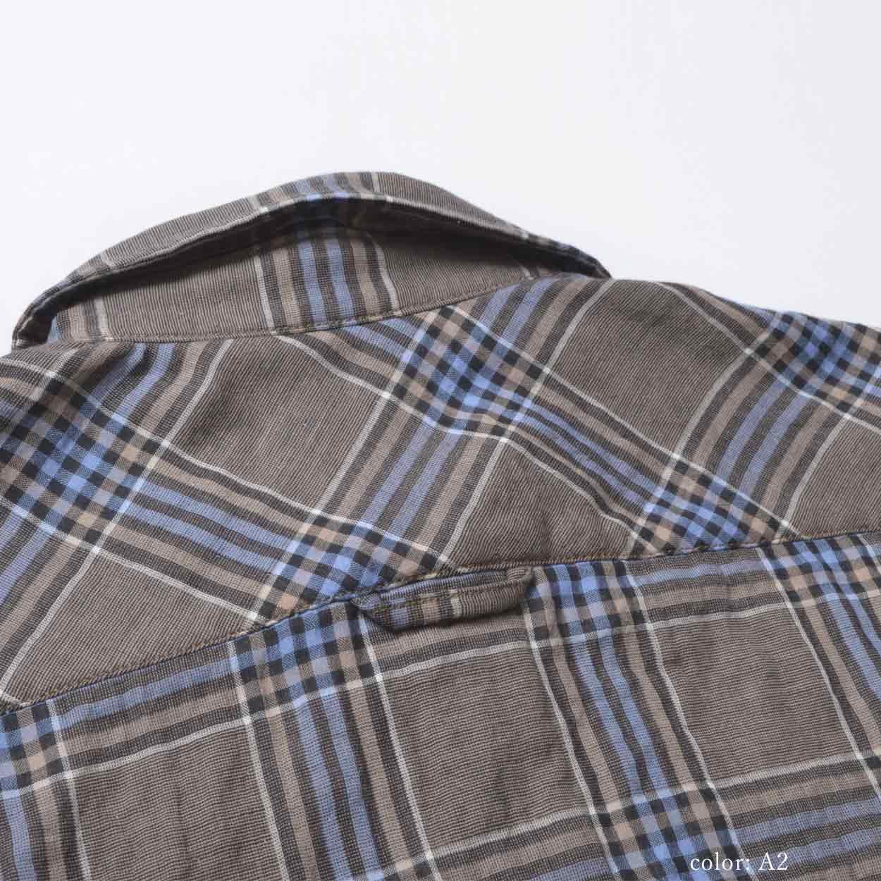 【SALE】M・J・G チェックシャツ GMT665