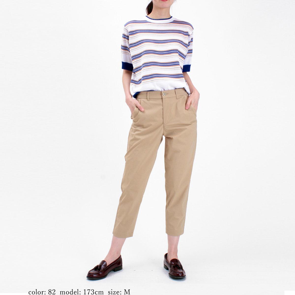 【SALE】Mrs.Jeana GOLD ■涼■ ハイパワーストレッチ リラックステーパード GM3884