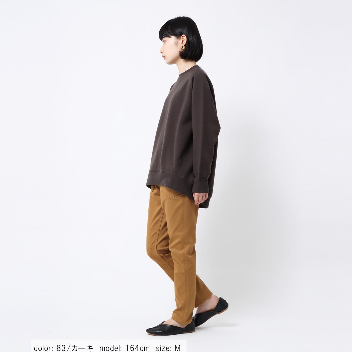 【10/25入荷】裏フリース ペグスキニー CF0429