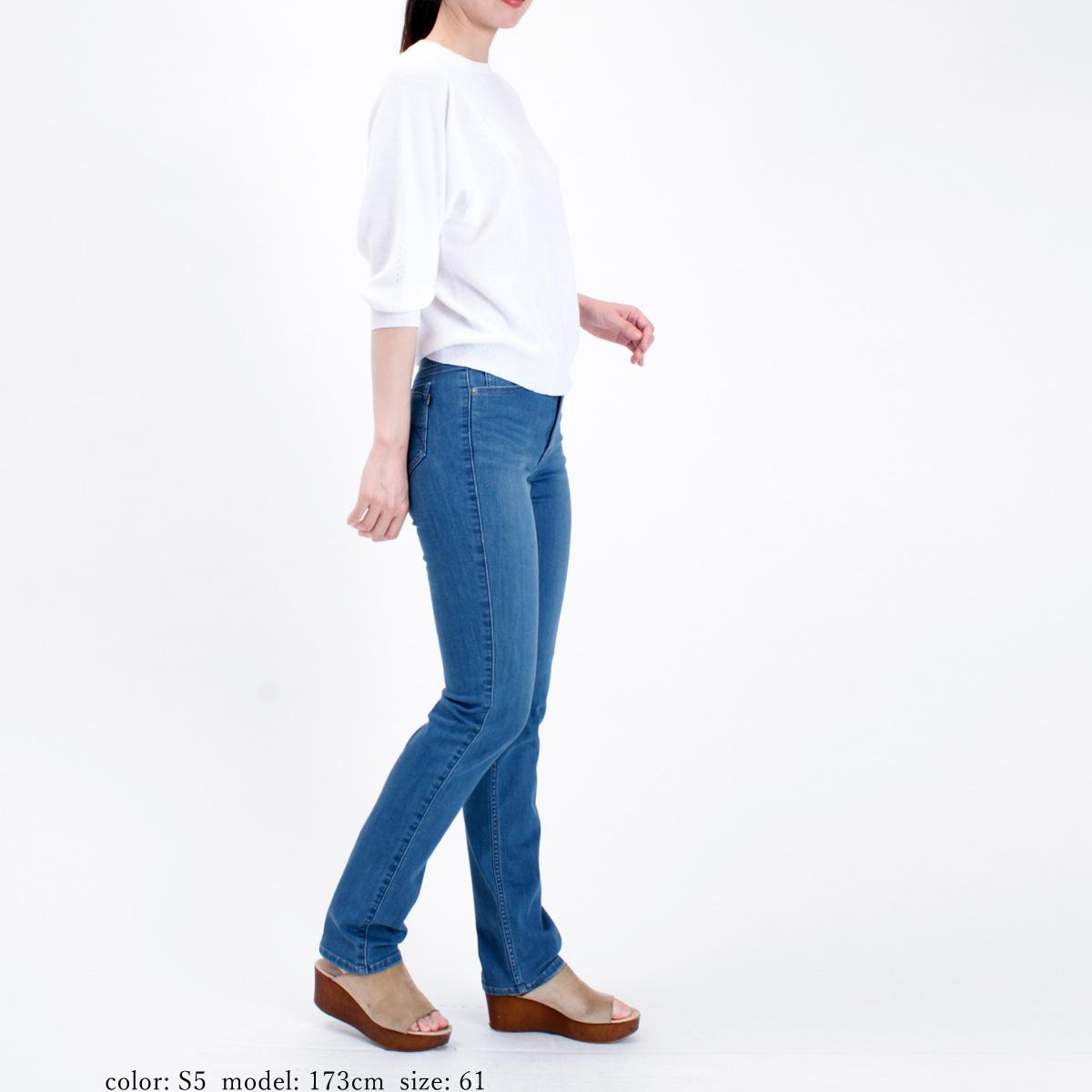 【SALE】Mrs.Jeana ■涼■ クールビューティデニム サマーストレート MJ4562