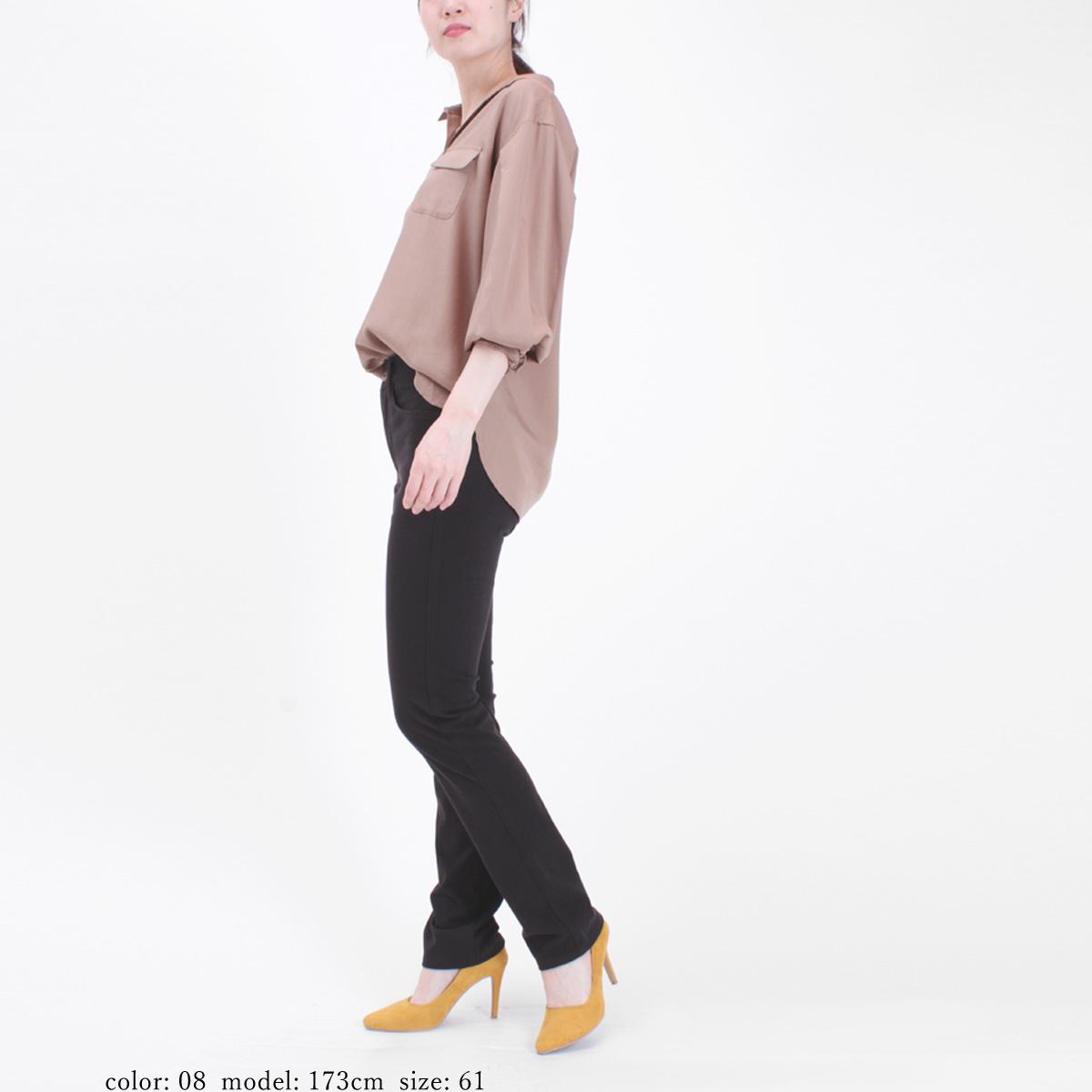 【SALE】Mrs.Jeana ■涼■ ソフトクールニットカラー サマーストレート MJ4552