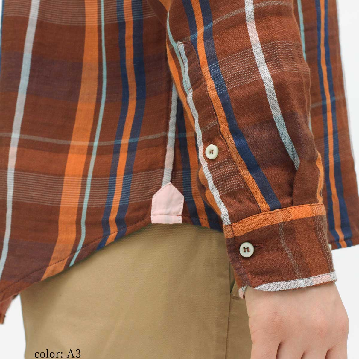 【SALE】M・J・G チェックシャツ GMT670