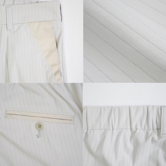 【SALE】ハイテンションストレッチ タック入りパンツ GMP002