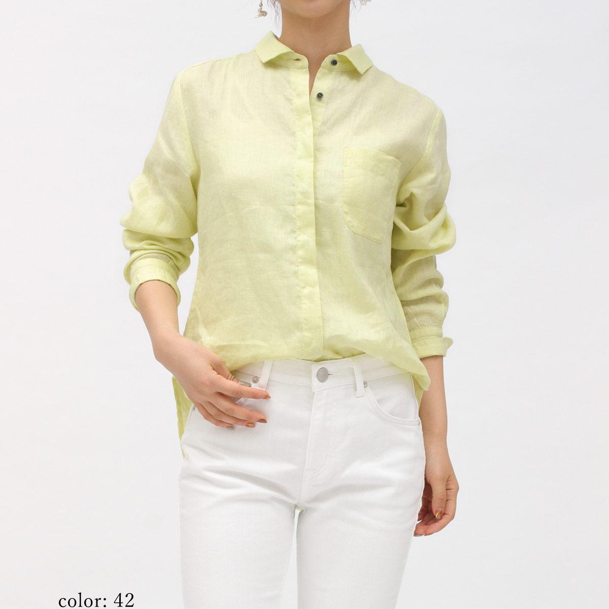 【再値下げ】リネンナガソデシャツ GMT672