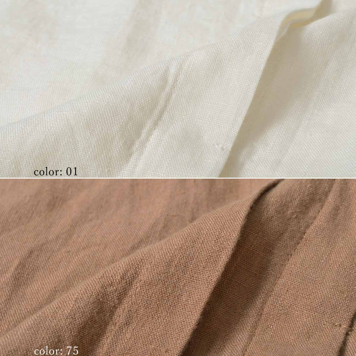 【SALE】M・J・G フレンチリネンロングシャツ GMT673
