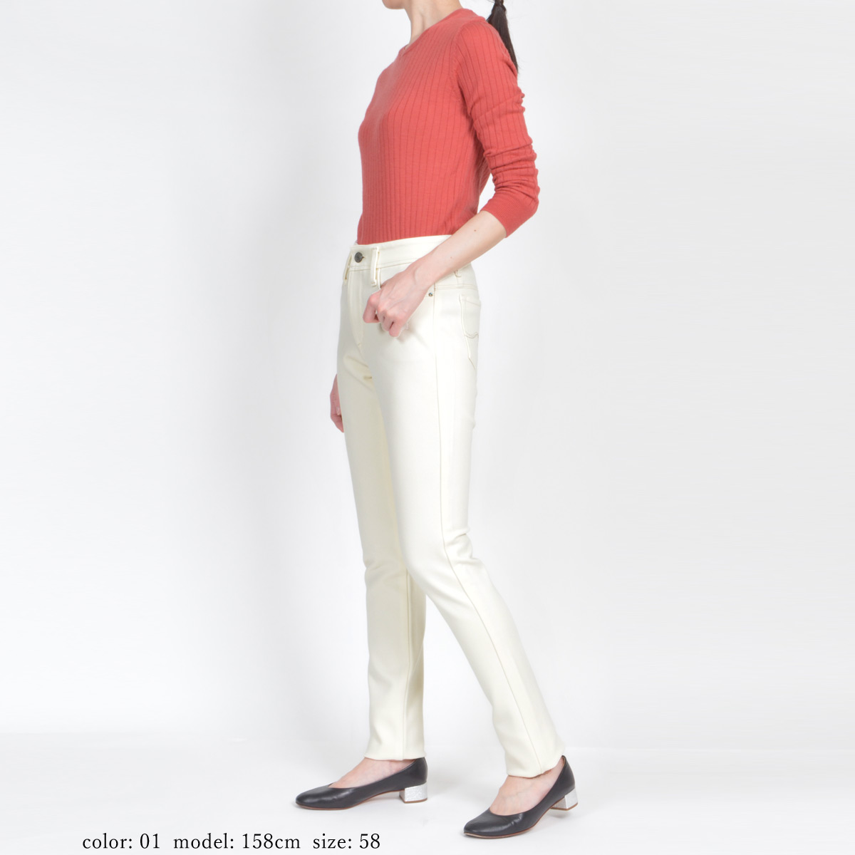 Mrs.Jeana GOLD ■暖■ クロスウォームスキニー GM3791