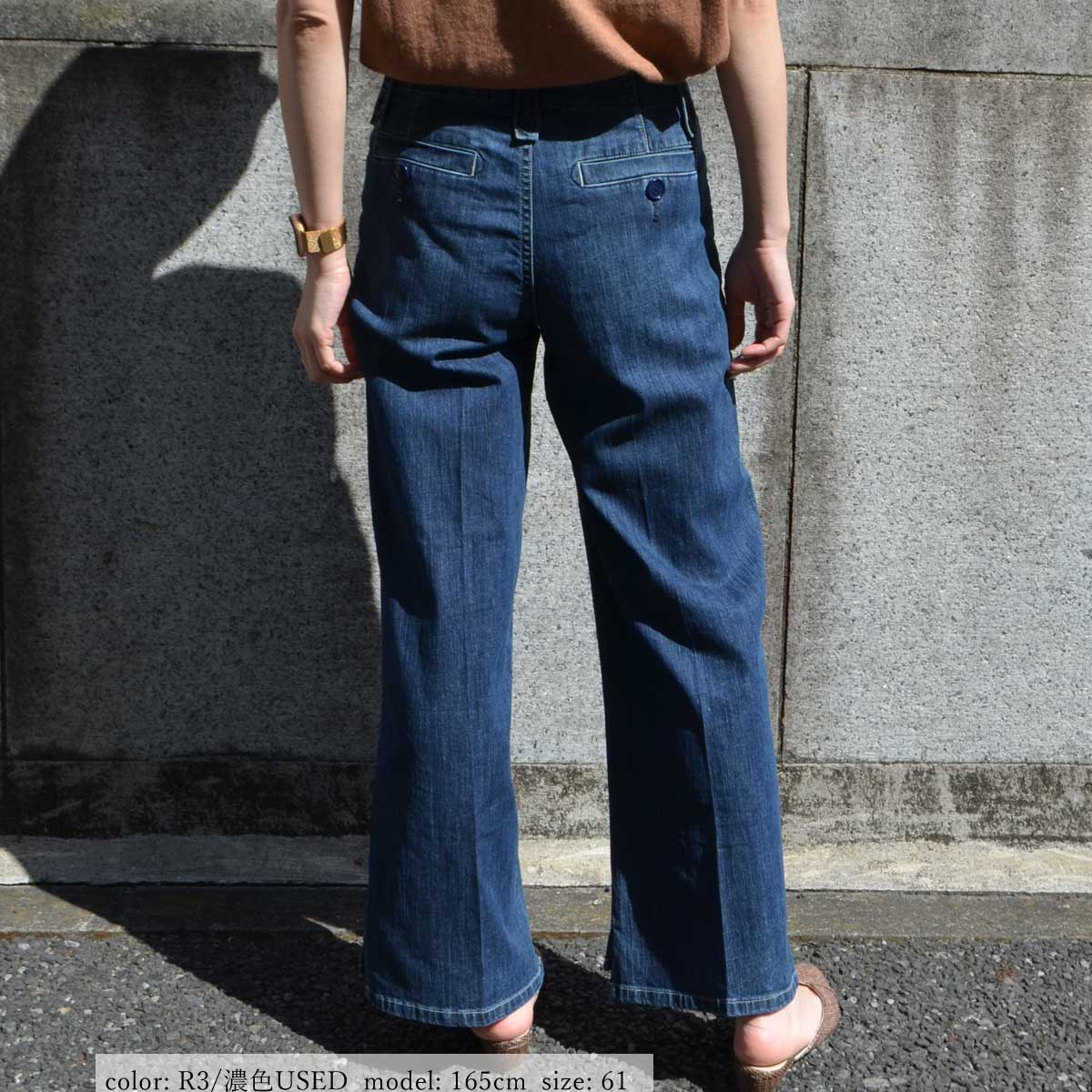 \返品送料無料/Sweet Camel WIDESTRAIGHT CA6524