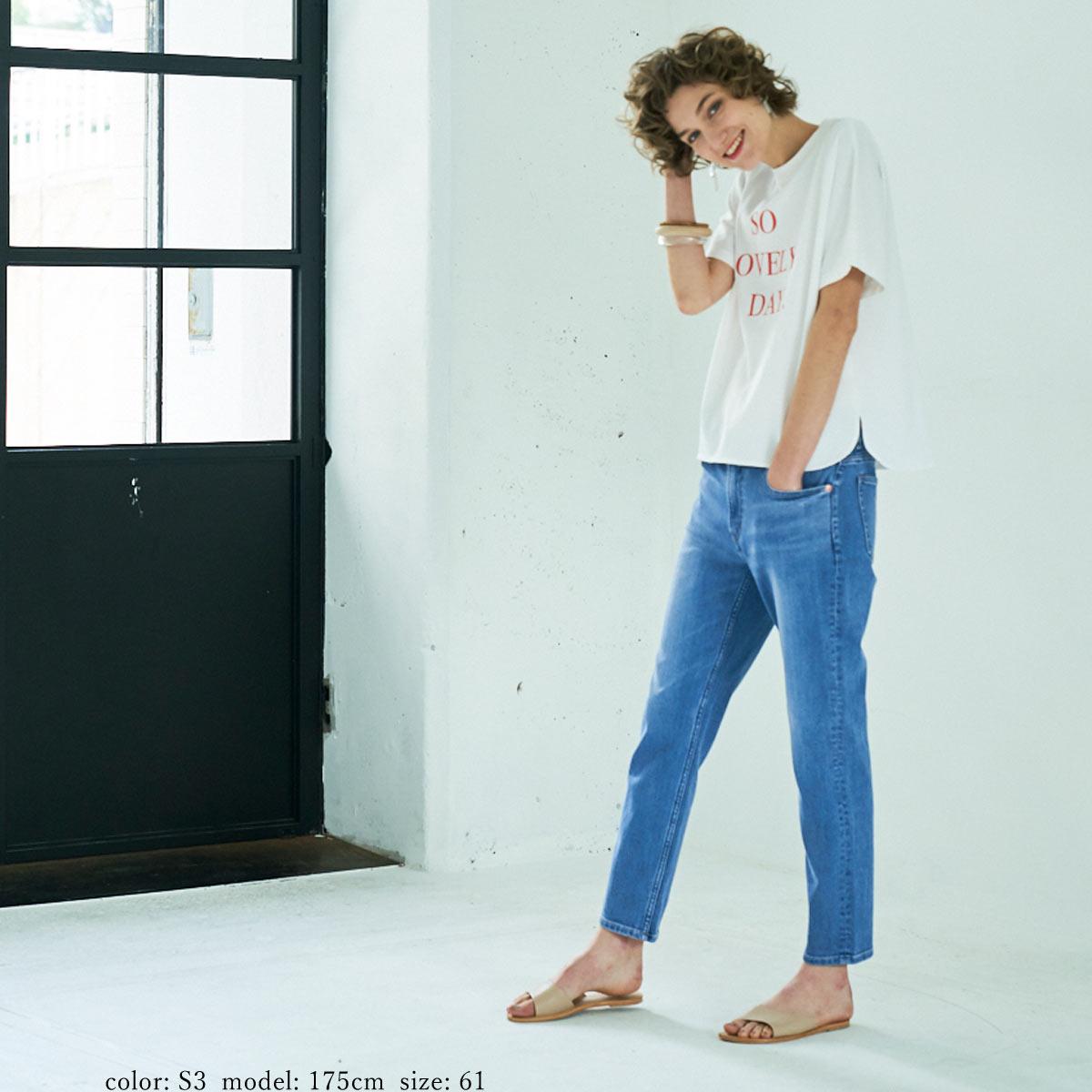【NEW SALE】Sweet Camel テーパードクロップド CA6476