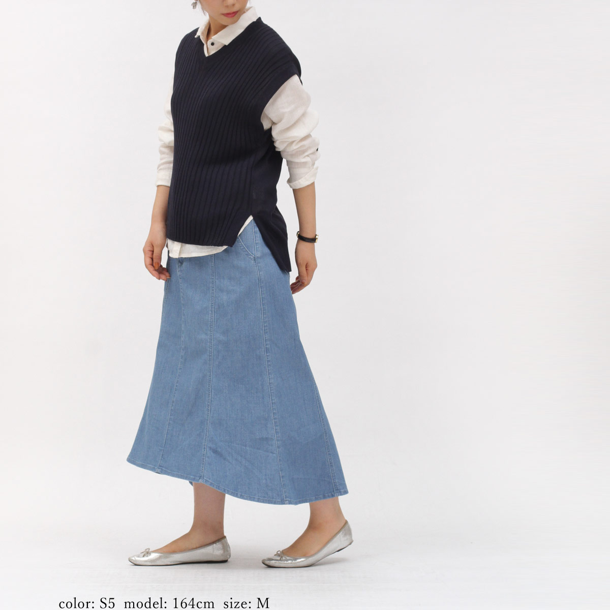 Sweet Camel ■涼■マーメイドラインスカート CA6515