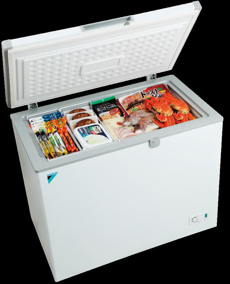 DAIKIN (ダイキン工業) LBFG2AS 業務用冷凍ストッカー 200リットルタイプ