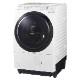 ドラム式洗濯乾燥機 11kg 温水泡洗浄W・2度洗いモード新搭載のハイスペックモデル 左開き NA-VX800BL-W
