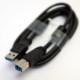 [新品バルク]EIZO USB3.0ケーブル UU200SS 2m フェライトコア付 (タイプAオス -  タイプBオス)★