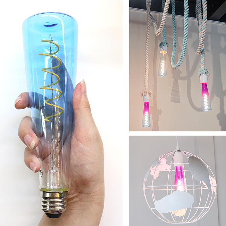【アウトレット】LED カラー電球 4W 調光可能 BL022