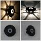 8つの光の円形ポーチライト|WP023|でんらい